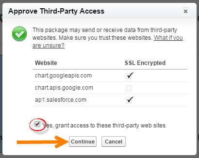 Approve Third-Party access